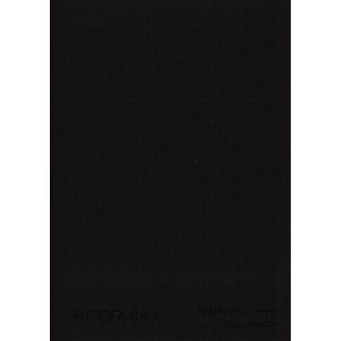 Fabriano Tiziano Pastel Paper 50cm x 65cm Black
