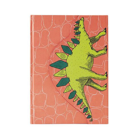 Kookie Chomp Magnetic Closure Notebook Orange A5