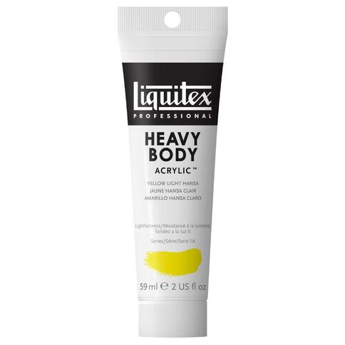 Liquitex Hb Acrylic 59ml Light Hansa Yellow