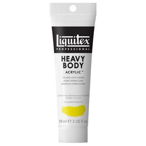 Liquitex Hb Acrylic 59ml Light Hansa Yellow