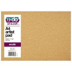 U-Do Acrylic Painting Pad A4