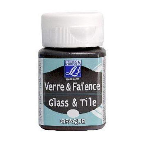 Lefranc & Bourgeois Glass Tile 50ml 108 Light Grey Brown