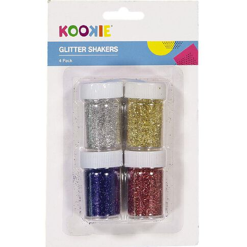 U-Do Glitter Multi-Coloured 4 Pack
