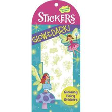 Peaceable Kingdom Stickers Glow In The Dark Fairy