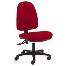 Chair Solutions Aspen Highback Chair Red Red