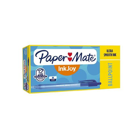 Paper Mate Inkjoy 100RT Blue 12 Pack