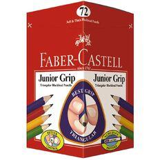 Faber-Castell Junior Grip Blacklead Pencil Hb Black