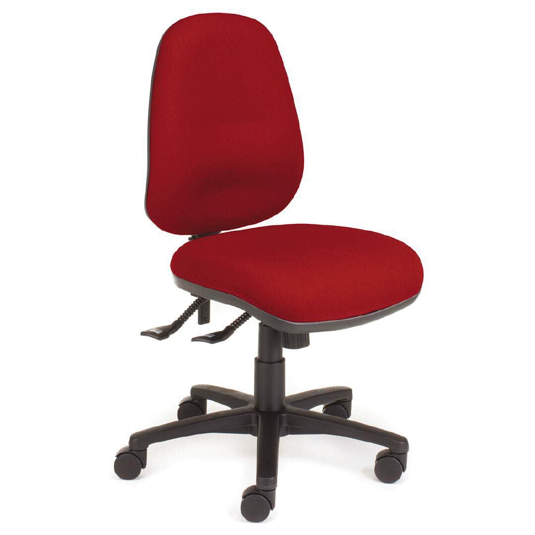chair solutions ergon highback chair red red warehouse stationery nz rh warehousestationery co nz