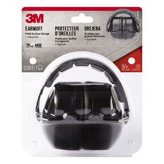 3M Folding Earmuff Black