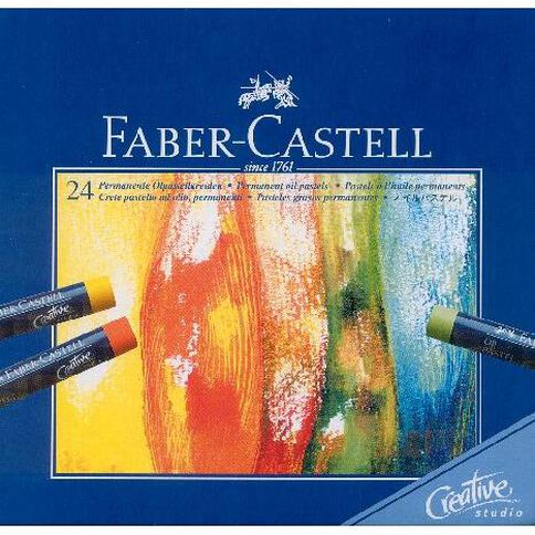 Faber-Castell Oil Pastels 24 Pack