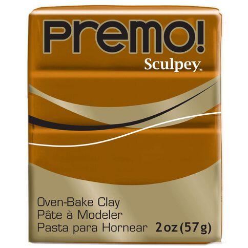 Sculpey Premo Accent Clay 57g Raw Sienna Brown