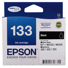 Epson Ink 133 Black (265 Pages)