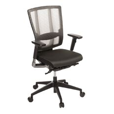 Eden Cloud Ergo Mesh Highback Chair with Arms Charcoal