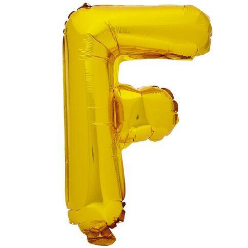 Artwrap Foil Balloon F Gold 35cm