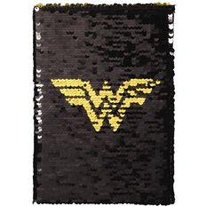 Wonder Woman Flip Sequins Notebook A5