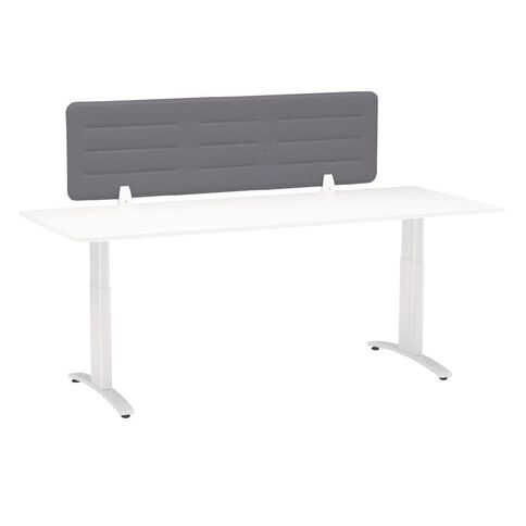 Boyd Visuals Desk Screen Charcoal 1180mm