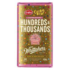 Whittaker's Hundreds & Thousands Chocolate Block