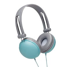 Tech.Inc Macaron Headphones Grey/Teal