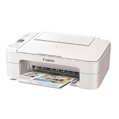 Canon PIXMA TS3365 Printer White