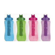 Baracuda Odyssy Drink Bottle With Freeze Stick 591ml Assorted
