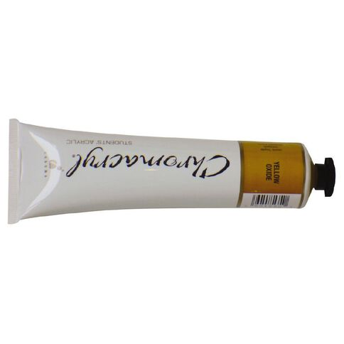 Chromacryl Paint 75ml Yellow  Oxide Yellow
