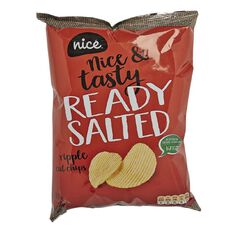 Nice Chips Ready Salted 100g