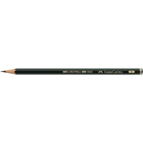 Faber-Castell Artist Pencil 9000 H Black