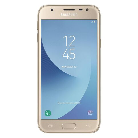 2degrees Samsung Galaxy J3 Pro Gold