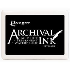 Ranger Stamp Pad Large Black