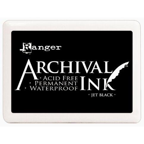 Ranger Stamp Pad Large Black