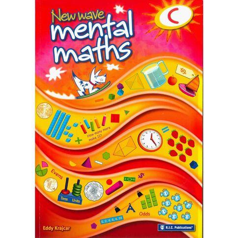 Year 3 Mathematics New Wave Mental Math C