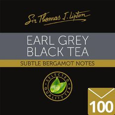 Lipton Sir Thomas Tea Bags Earl Grey 100pk