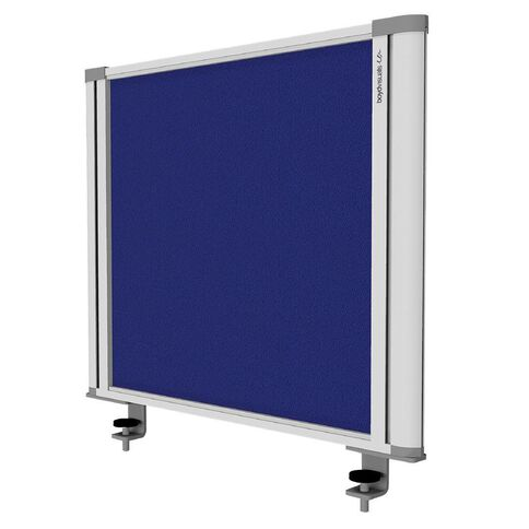 Boyd Visuals Desk Mounted Partition 560W Blue