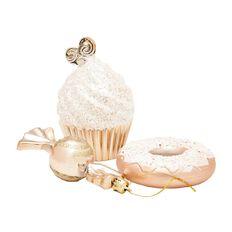 Wonderland Luxury Decoration Set Gold 40 Pack