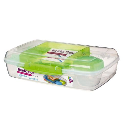 Sistema To Go Bento Box 1.76L Assorted