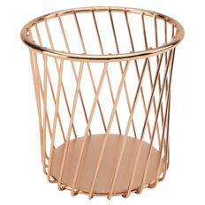 Uniti Rose Gold Pencil Cup
