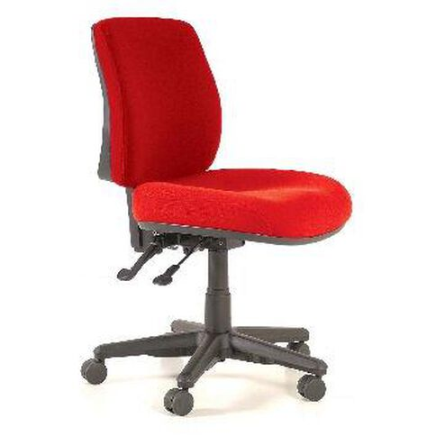 Buro Seating Roma 2 Lever Midback Chair Red