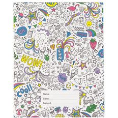 Kookie Book Sleeve Colour In Assorted 1B5