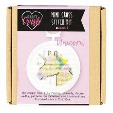Craft Crush Mini Cross Stitch Kit Unicorn