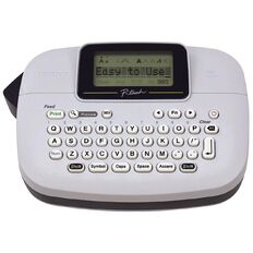 Brother PTM95 Label Maker Black Black