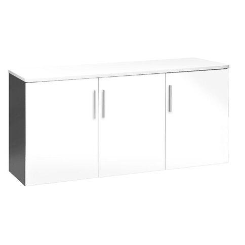 Jasper J Emerge Wood Doors Credenza 1500 White/Ironstone