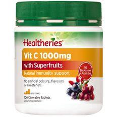 Healtheries Vitamin C + Superfruits 1000mg 100s