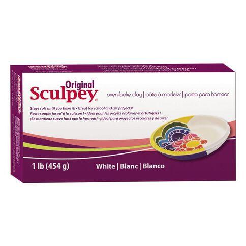 Sculpey Original Clay 454g White