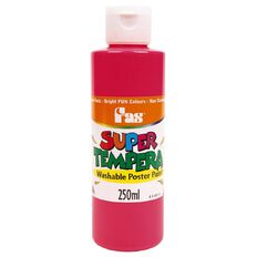 FAS Paint Super Tempera 250ml Fluoro Pink