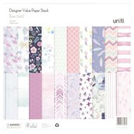 Uniti Value Paper Stack 40 Sheet 12in x 12in