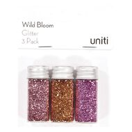 Uniti Wild Bloom Glitter 3 Pack
