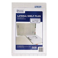 Filecorp 2001 Standard Shelf File 10 Pack White