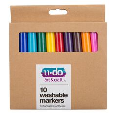 U-Do Washable Markers 10 Pack