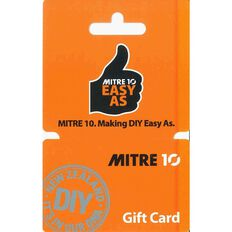 Mitre 10 Gift Card $50
