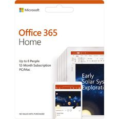Microsoft Office 365 Home Premium POSA